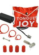 Tongue Joy Oral Vibrator Silver