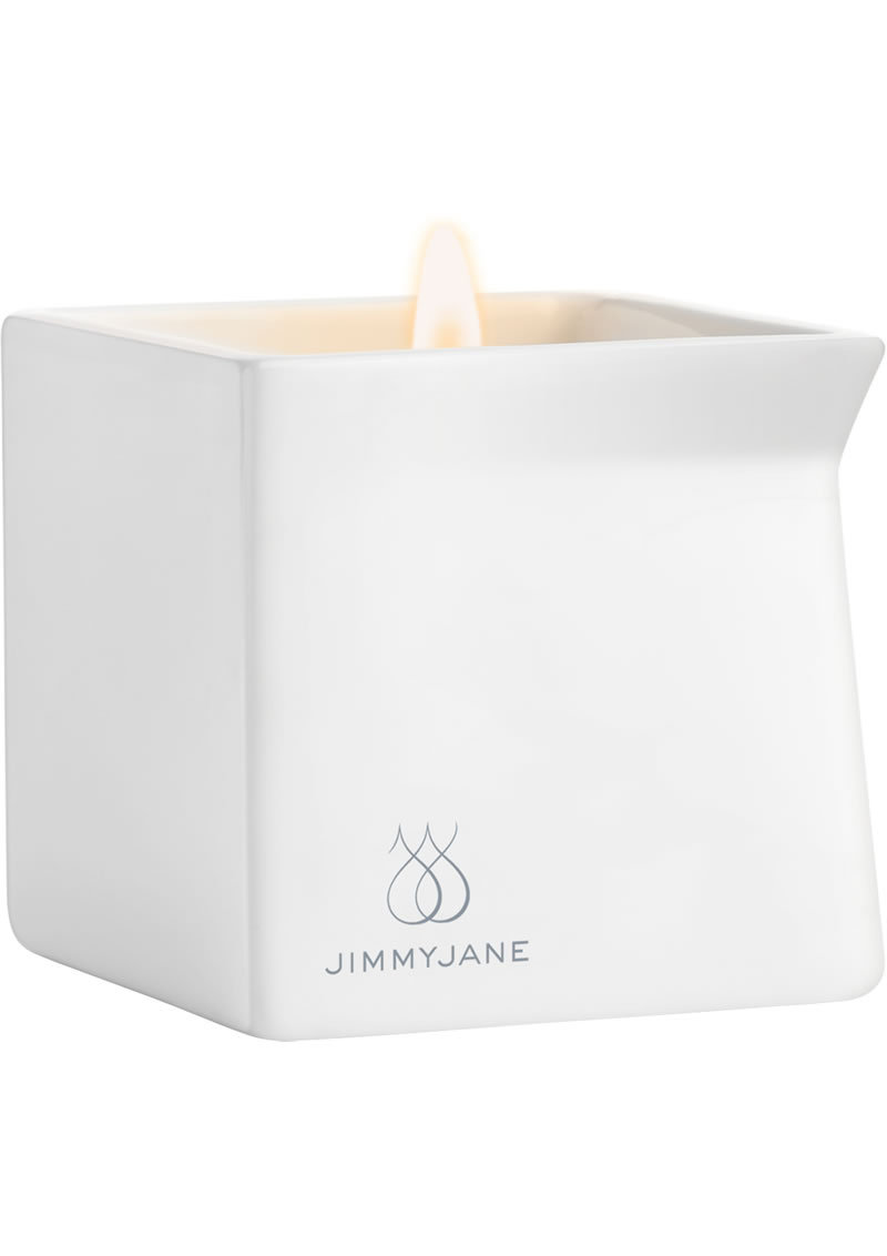 Jimmyjane Afterglow Natural Massage Oil Candle Bourbon 4.5 Ounce