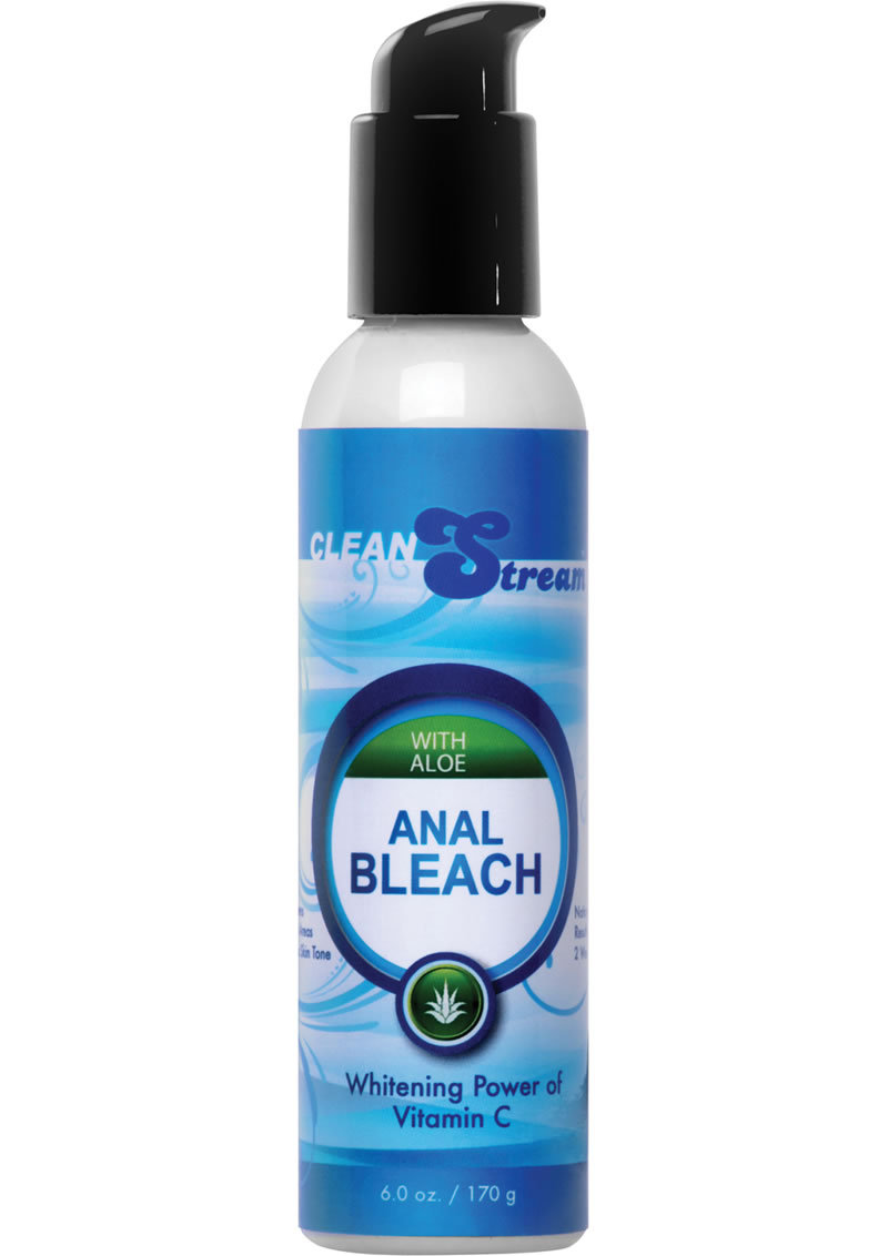 Clean Stream Aloe Anal Bleach With Vitamin C 6 Ounce